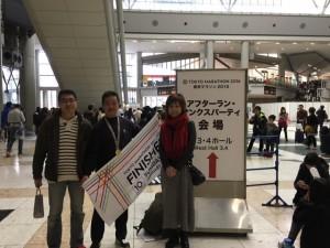 羽山氏と三人