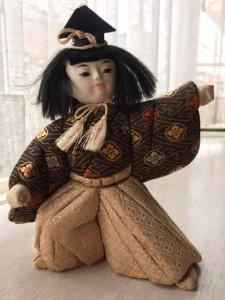5月人形 朝