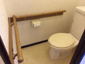 トイレ手摺③